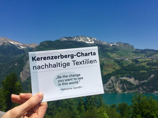 Kerenzerberg Charter for Sustainable Textiles